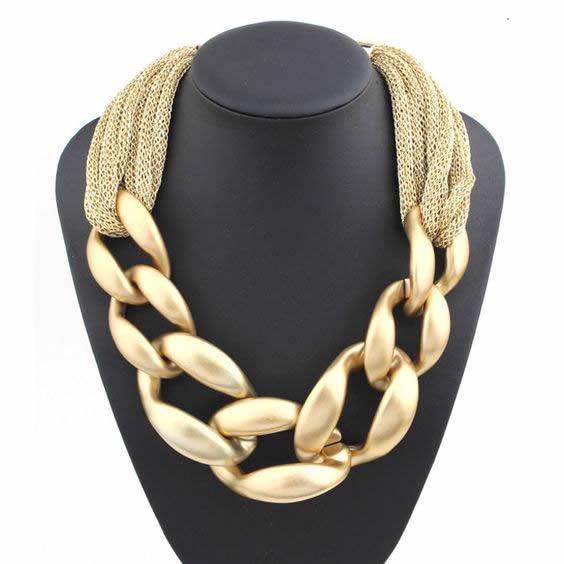 łańcuszki złote