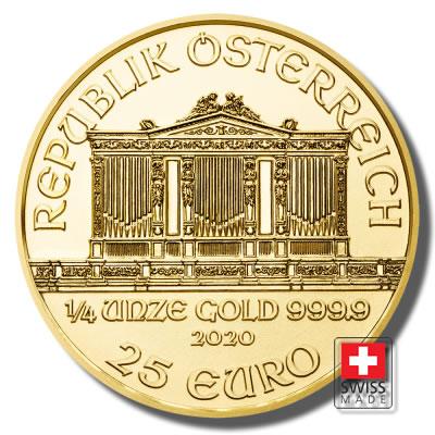 FIlharmonik złota moneta