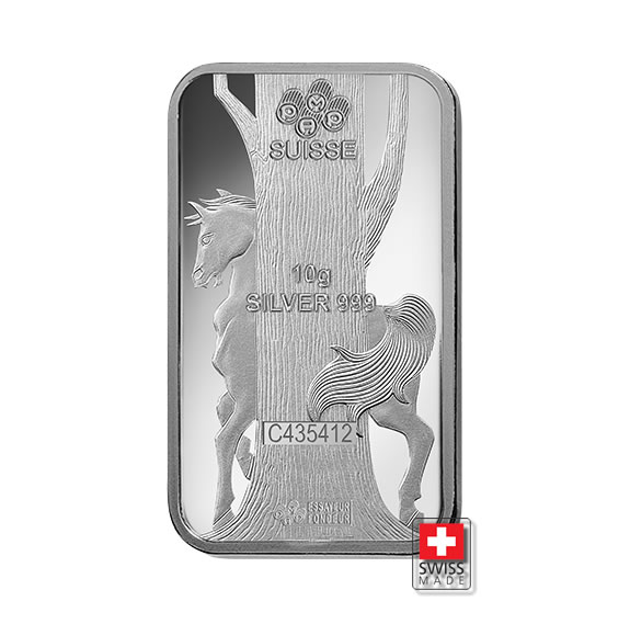 horse sztabka 10 gram srebra