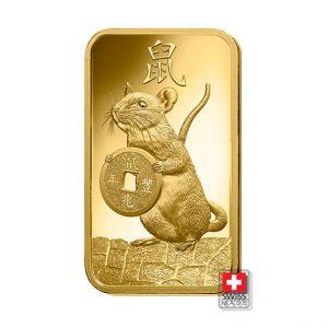sztabka rat 5 gram złoto
