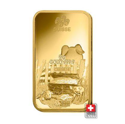 sztabka złota 5 gram