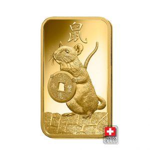 sztabka złota rat 100 gram