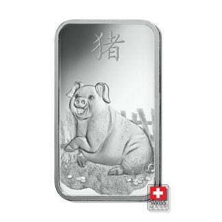 sztabki 10 gram srebro