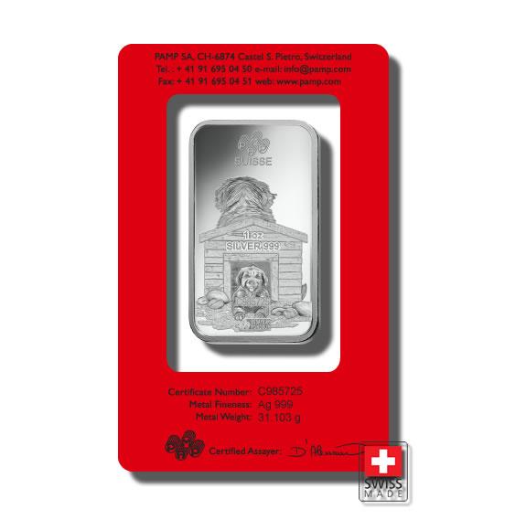 sztabki 31 g srebro