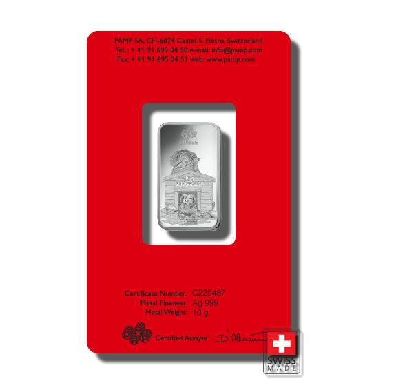 sztabki srebra 10 gram mennica