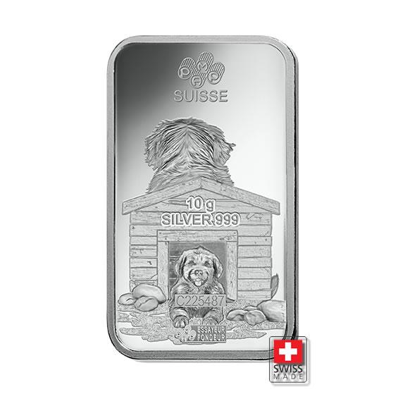 sztabki srebra 10 gram mennice