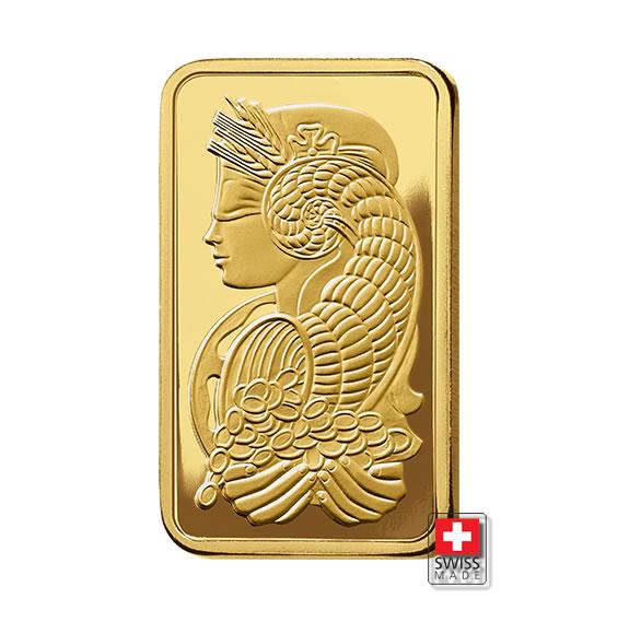 Fortuna PAMP sztabka 5 g złoto