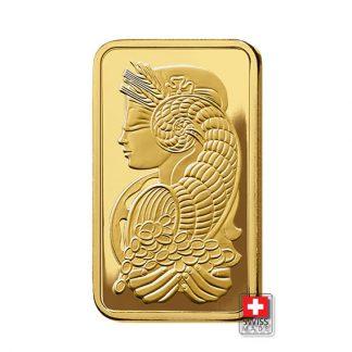 sztabka 1 oz złoto