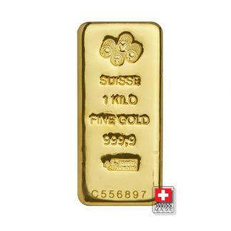 złota sztabka 1 kg