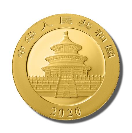 Panda złota moneta 1 uncja