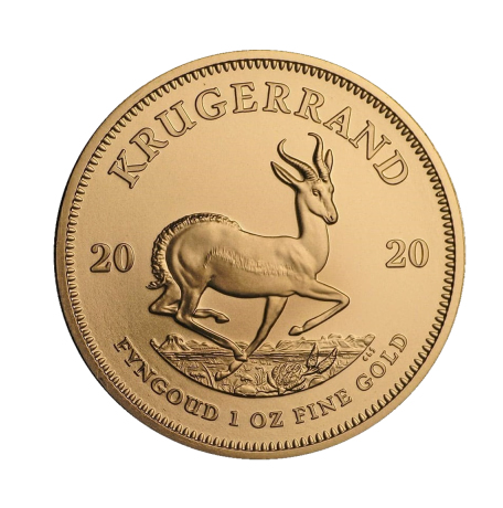 Krugerrand złota moneta