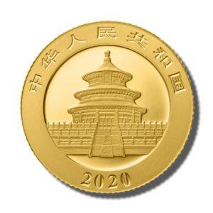 Panda moneta 3 g