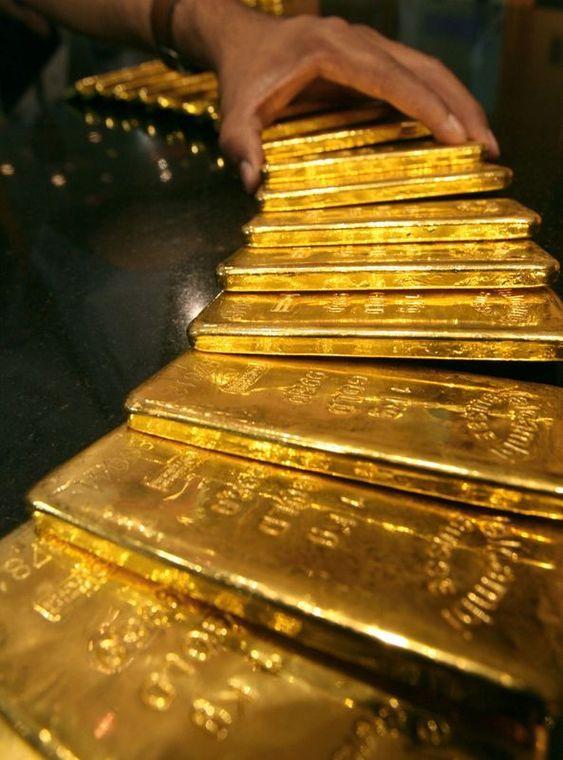 mennica złote sztabki